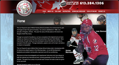 Dupuis Hefford Hockey School