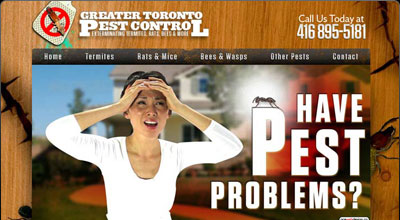 Greater Toronto Pest Control